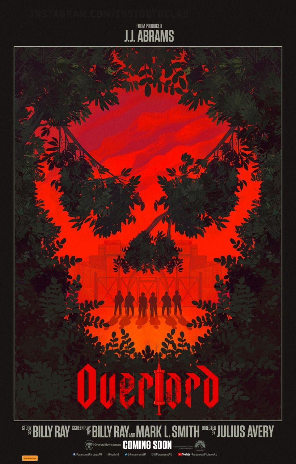 Image result for overlord movie poster