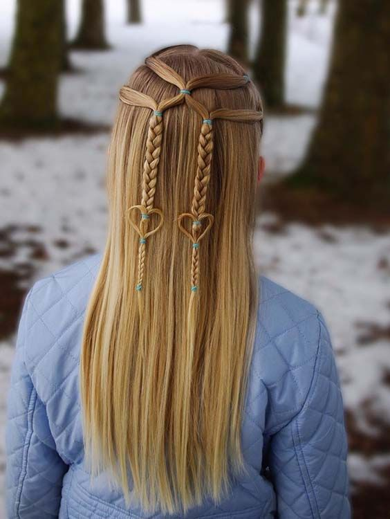 Cutest Winter Half Up Braided Hairstyles For Long Hair To Sport In 2018 If You Are Loo Braids For Long Hair Cool Braid Hairstyles Easy Hairstyles For Long Hair