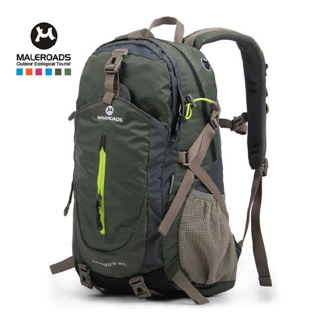 710e2bcead74 Top quality Maleroads Hiking Backpack Travel Daypack Outdoor Sport ...