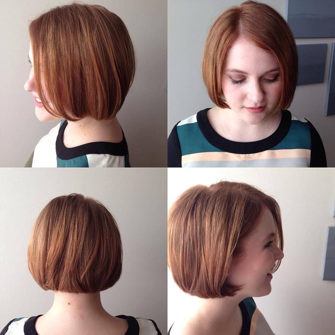 40 Most Flattering Bob Hairstyles For Round Faces 2018 Short Hair Styles For Round Faces Hairstyles For Round Faces Bob Hairstyles For Round Face
