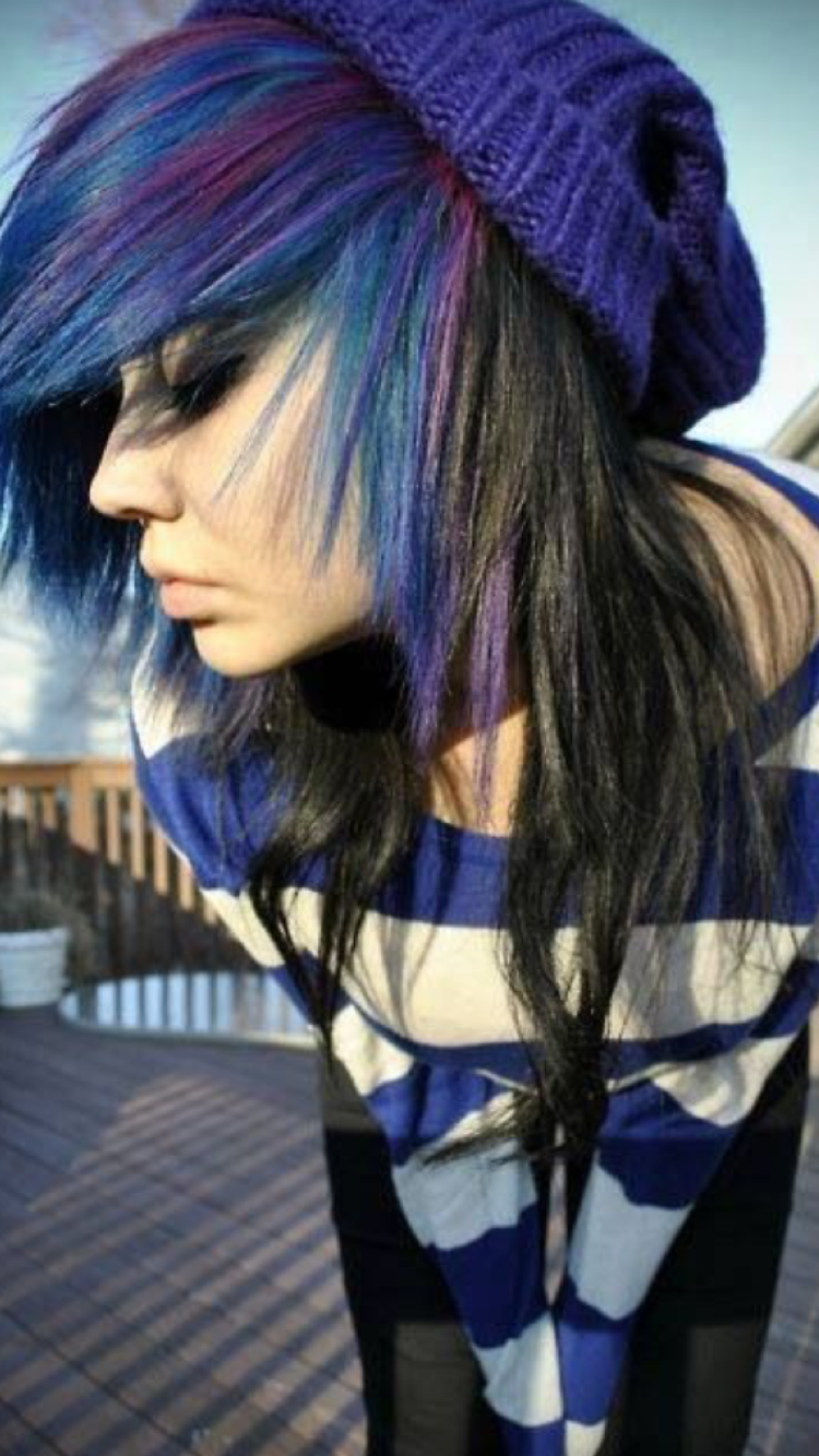 Pin by cleo jewell on emo hair pinterest emo emo girls and