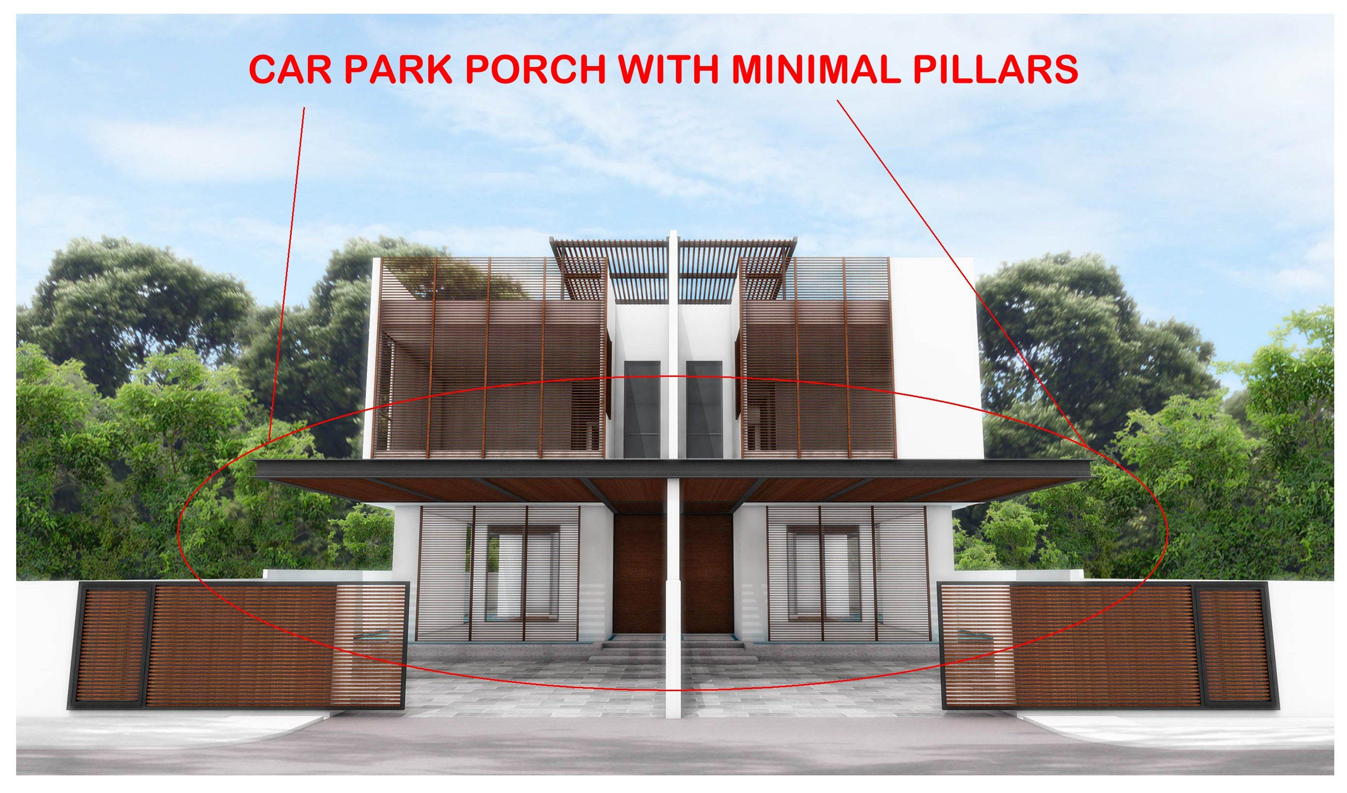 131 Reference Of Car Porch Pillars Designs In 2020
