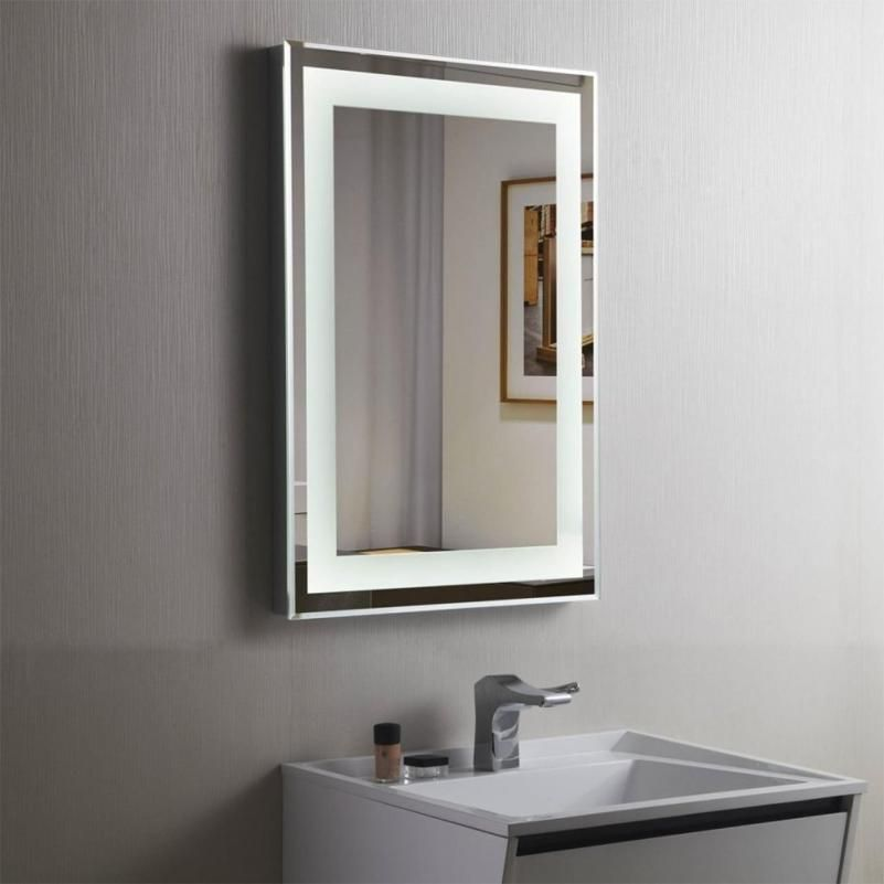 35 Stunning Bathroom Vanity Mirrors With Light Designs Bathroom