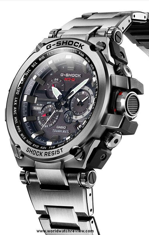 Casio G Shock Metal Twisted (MTG S1000D 1AJF) | Relojes de