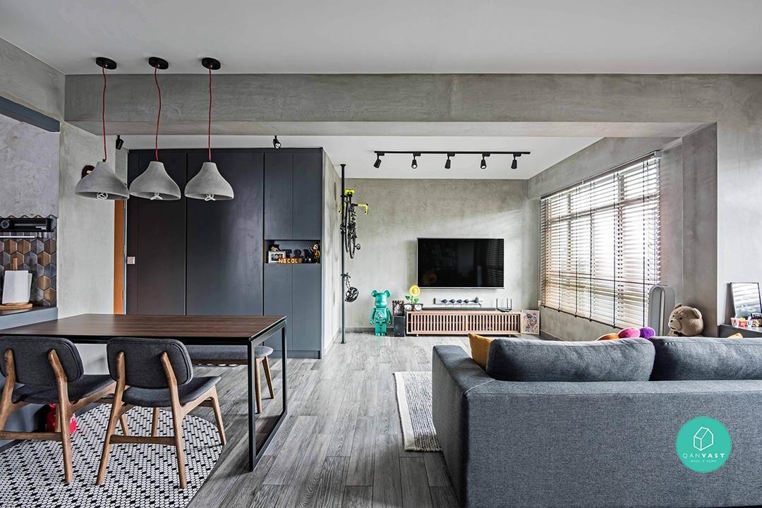 10 Open Concept Designs For Your Future Flexi Hdb Flat Small Room Design Room Design Design House not open concept