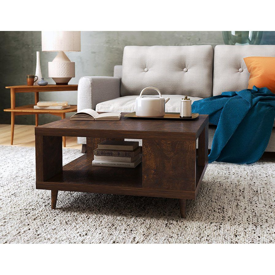 Cassia Coffee Table with Magazine Rack New den Pinterest