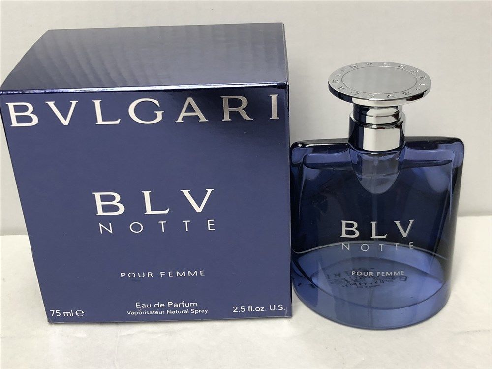 Blv Notte By Bvlgari 25 Oz75ml Eau De Parfum Spray For Women Hard