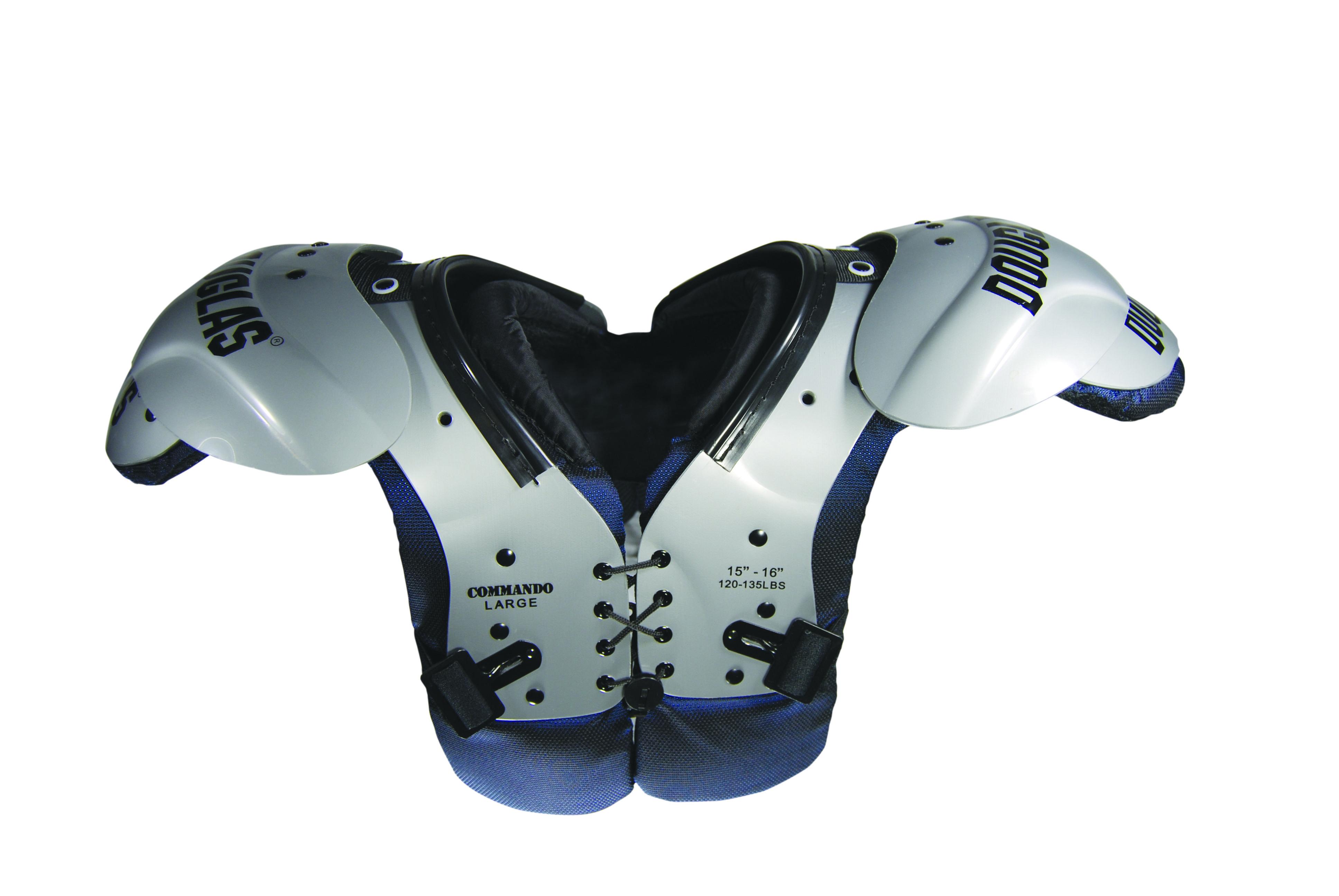 Douglas commando series youth shoulder pad football