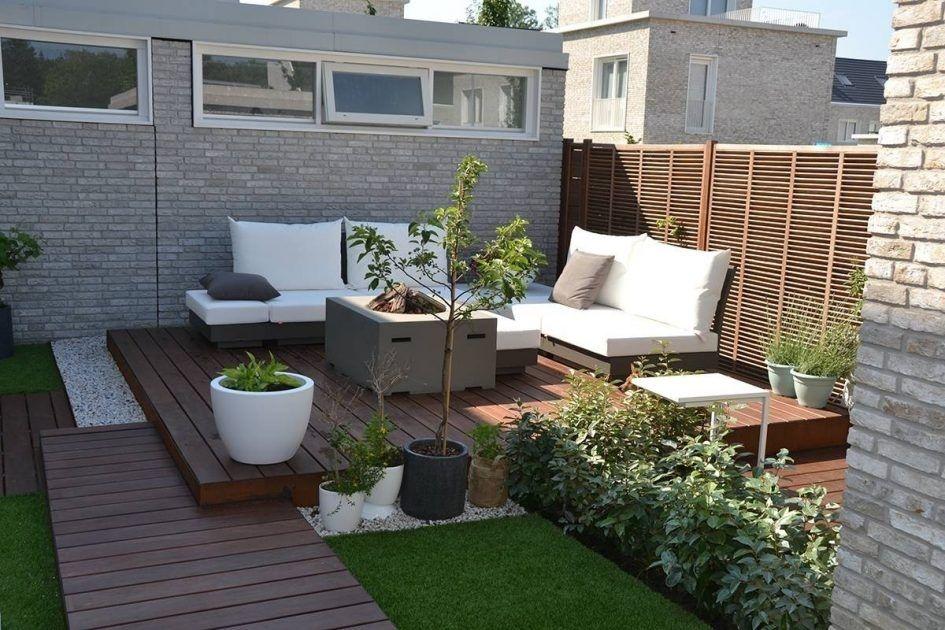 Afbeeldingsresultaat voor kleine moderne tuin tuin