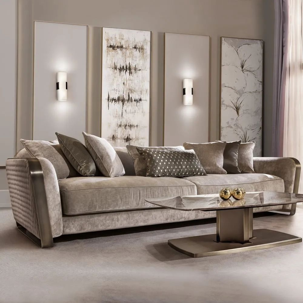 Pin By 小黑嘻嘻嘻 On 沙发 In 2020 | Luxury Leather Sofas, Couch Design, Luxury Sofa