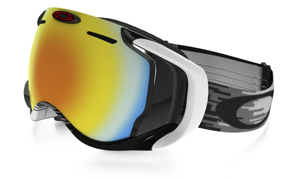 54a8b279695 Shop Oakley Airwave™ in WHITE   FIRE IRIDIUM at the official Oakley online  store.