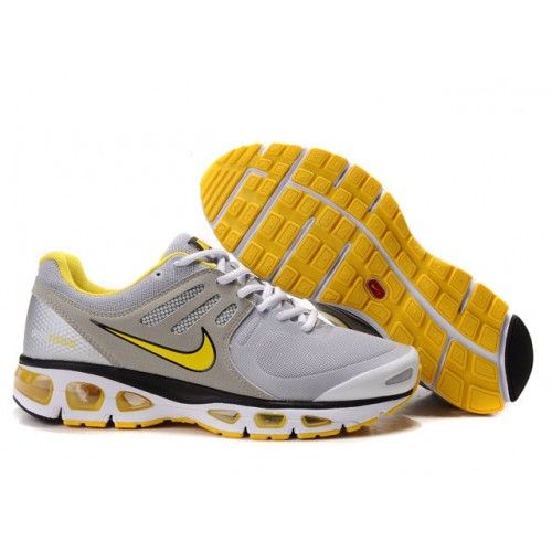 new product 758d1 5e374 Hommes Nike Air Max 2010 Gris Jaune 88,98€