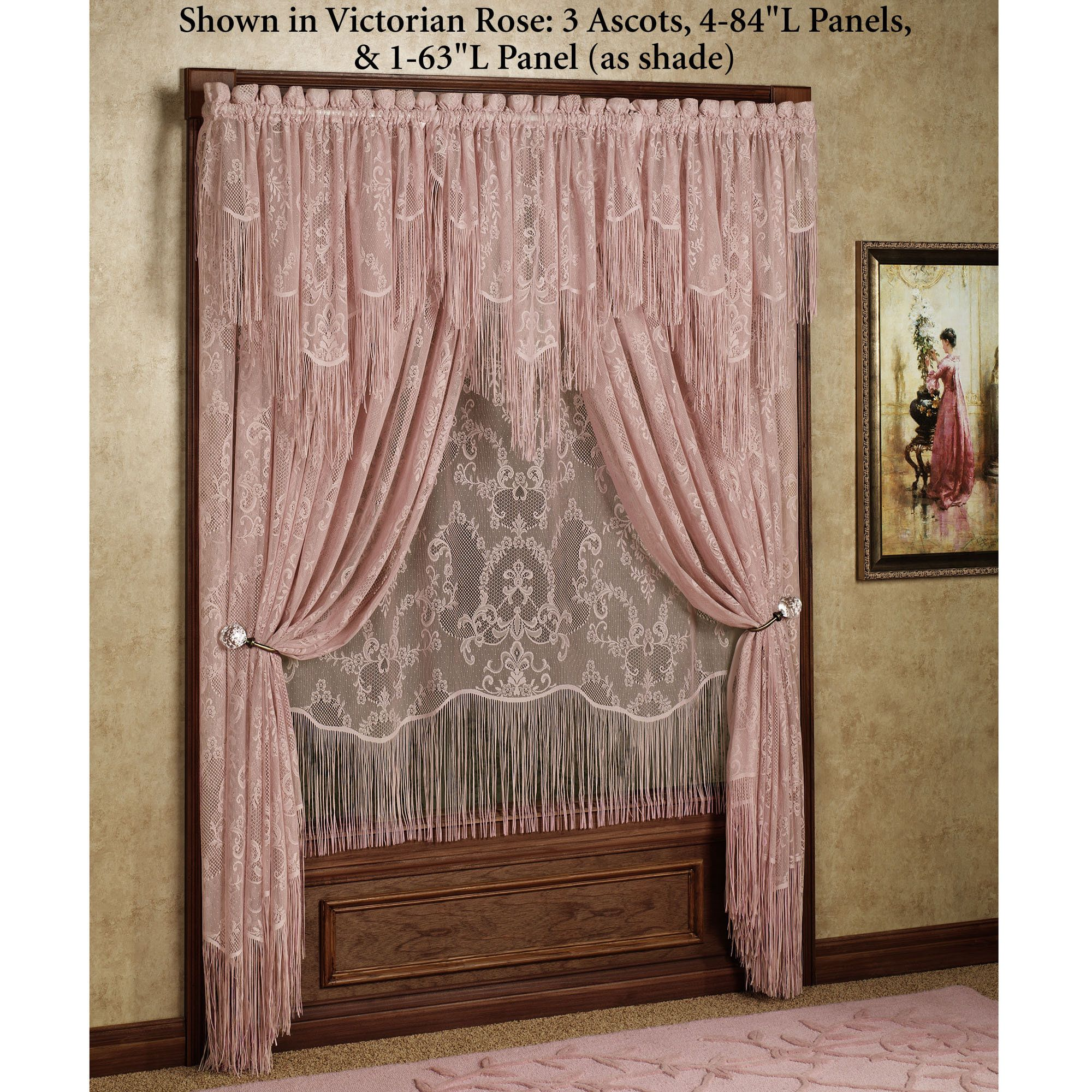 victorian window bay dining beautiful curtains drapes michelle room