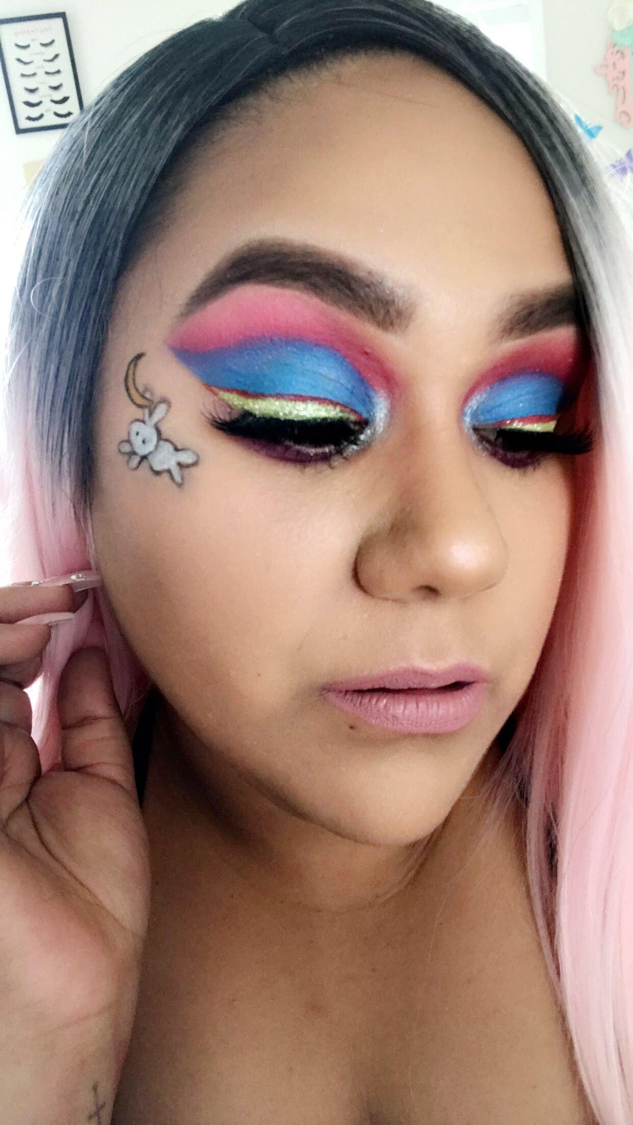 My Sailor Moon Inspired Makeup Look Makeup Makeupporn Makeupjunkie Makeupaddict Makeupobsessed Makeupgo Jeffree Star Cosmetics Makeup Lover Makeup