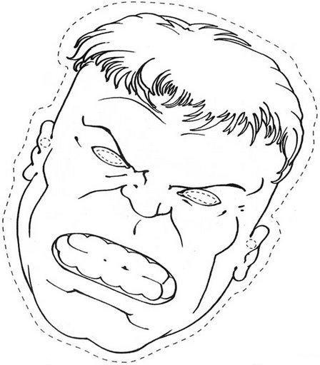 Pin de Planeta Galleta en SUPERHEROES: Hulk | Pinterest | Antifaz ...