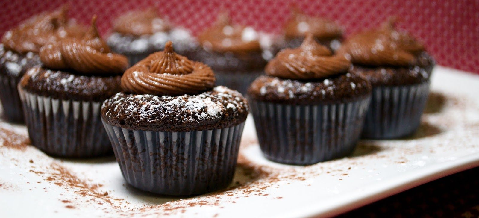 Chocolate cupcakes chocolate frosting gluten free