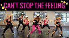 """""""Can't Stop This Feeling"""" by Justin Timberlake. SHiNE DANCE FITNESS -  """"Can't Stop This Feeling"""" by..."""