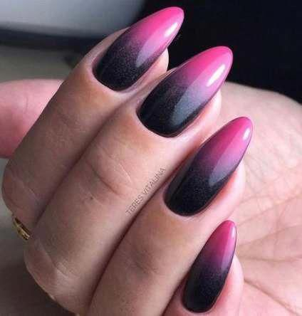 trendy nails stiletto design almond 16 ideas almondnails