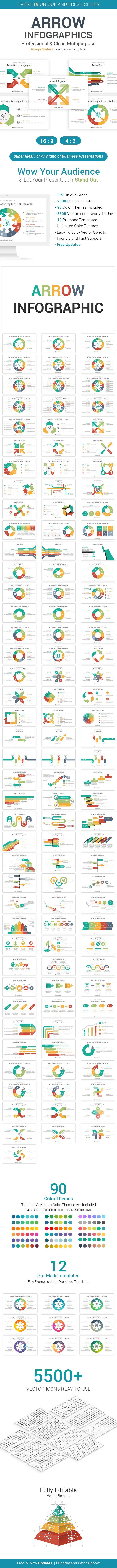 Arrow Infographics Google Slides Template Diagrams Powerpoint Templates Google Slides Template Business Powerpoint Templates Pastebin.com/fjffnumi if the first script model: pinterest