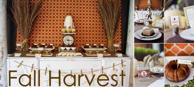 Beautiful ideas for harvest decorating!