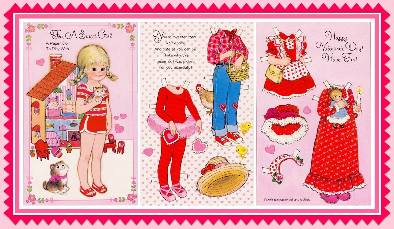 Garris buzzagibson greeting cards inc paper dolls cards garris buzzagibson greeting cards inc m4hsunfo