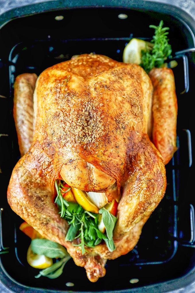 Photo of Garlic Herb Butter Thanksgiving Turkey Recipe