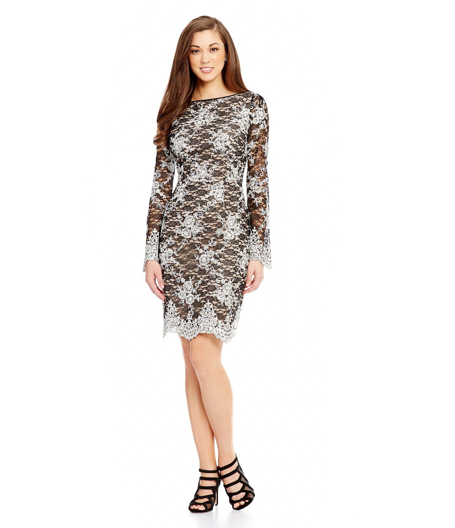 efba9f6728b Shop for Antonio Melani Holly Lace Sheath Dress at Dillards.com. Visit  Dillards.com to find clothing