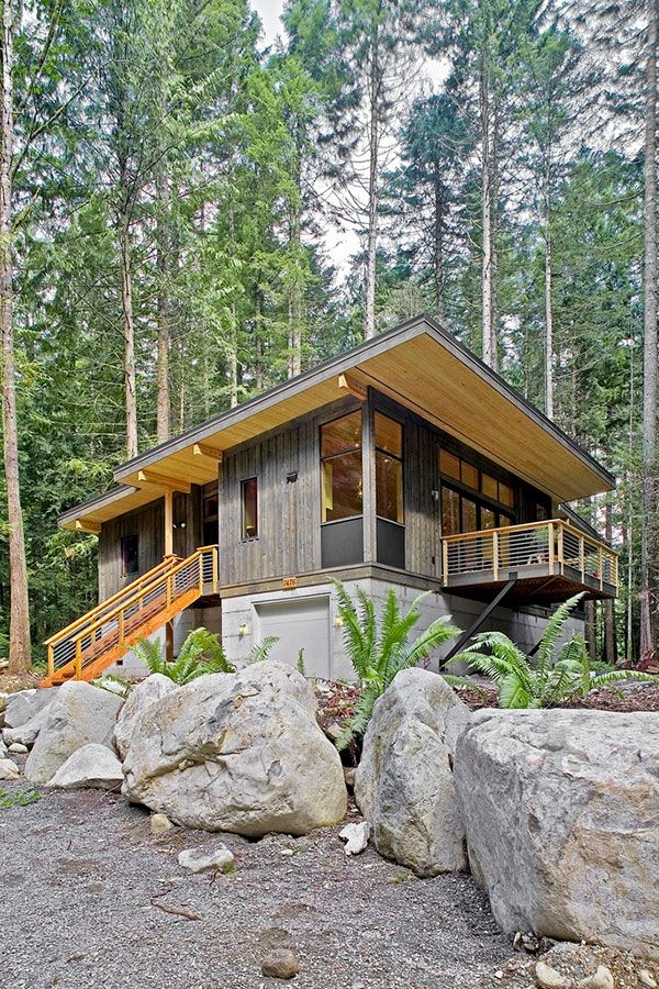 Prefab sustainable home by method homes for sale in for Modular cabins and cottages