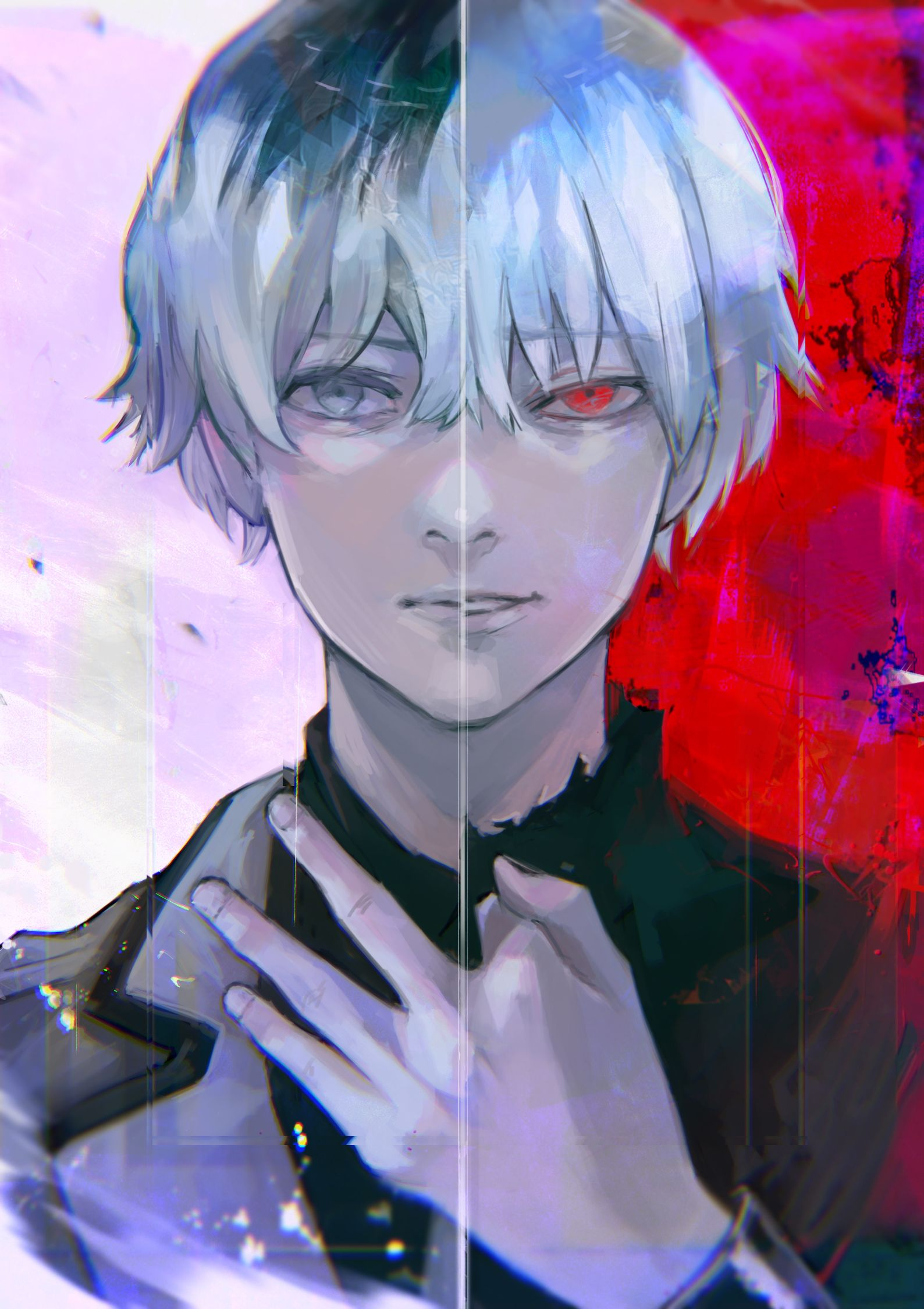 Two sides of me Tokyo ghoul anime, Tokyo ghoul tumblr