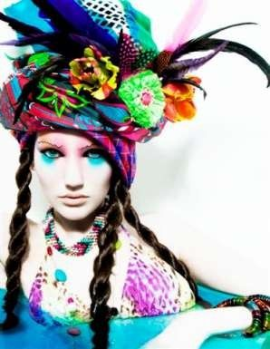 Fashion use of color