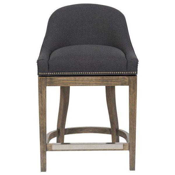 Superb Vanguard Furniture Jake Charcoal Calloway Swivel Counter Alphanode Cool Chair Designs And Ideas Alphanodeonline