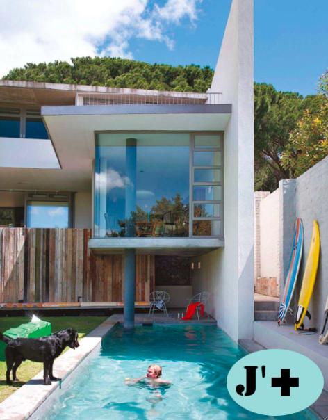 Modern Vintage In South Africa Modern Pools Pool Design Plans Backyard Pool Designs