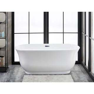 Attirant Shop For Finesse Julieta White Acrylic 67 Inch X 30 Inch Freestanding  Soaking Bathtub. Get Free Shipping At Overstock.com   Your Online Home  Improvu2026