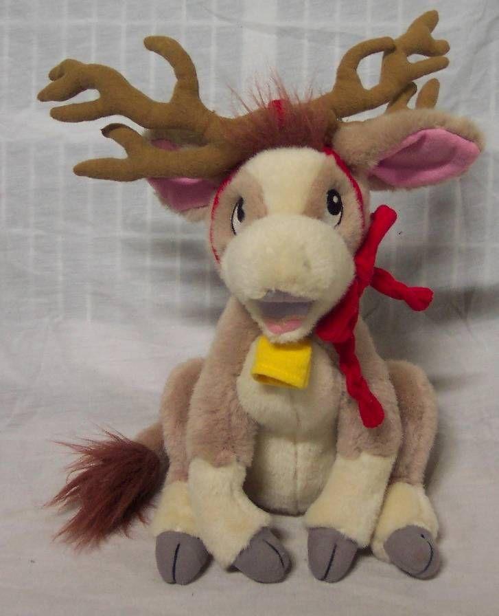 annabelle s wish annabelle cow calf w reindeer antlers plush
