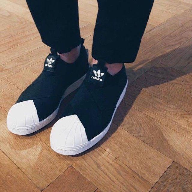 Adidas Superstar Slip On Style