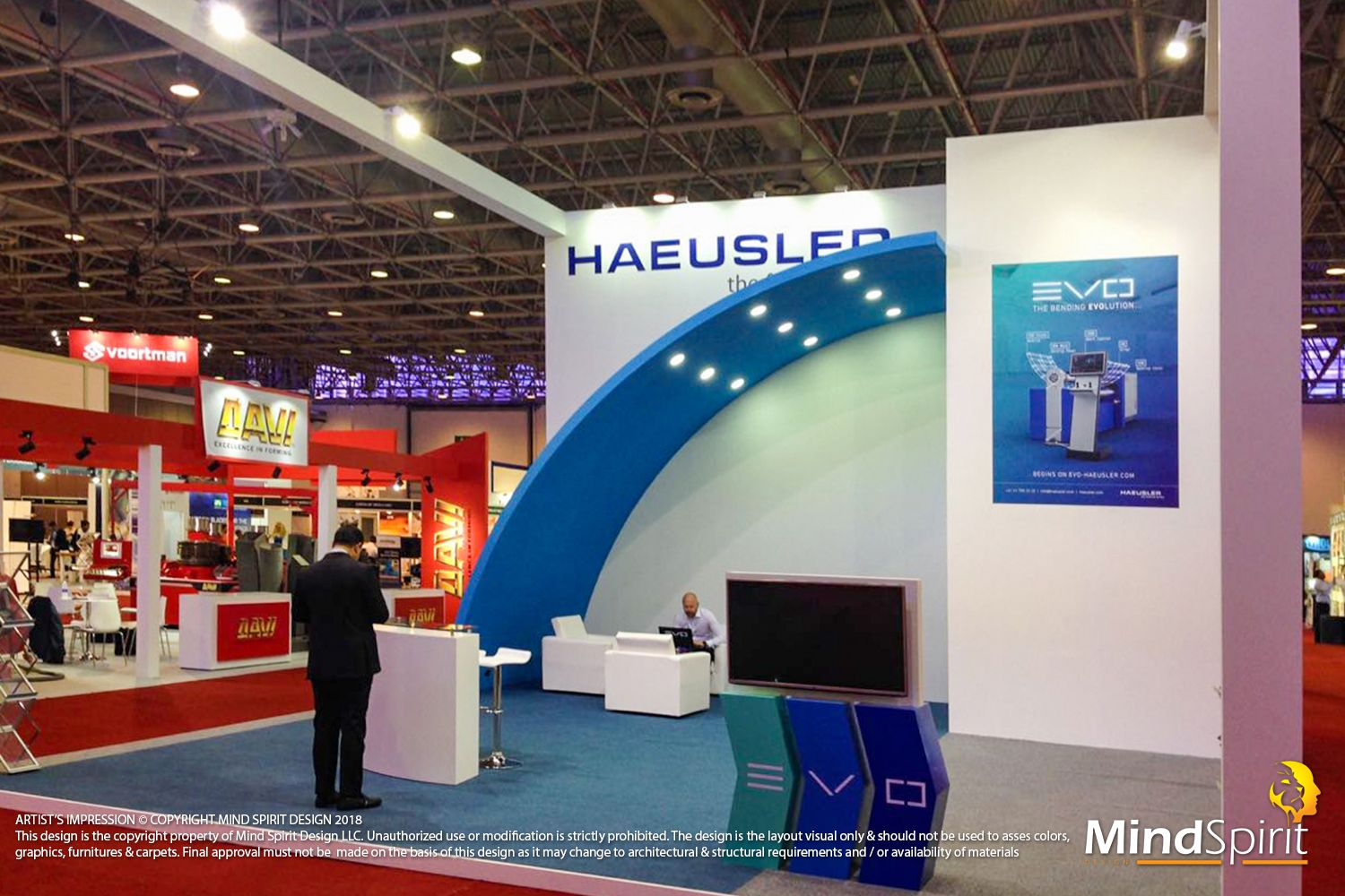 Exhibition Stand Builders In Sharjah : Mind spirit design in action at steelfab ask us for a design