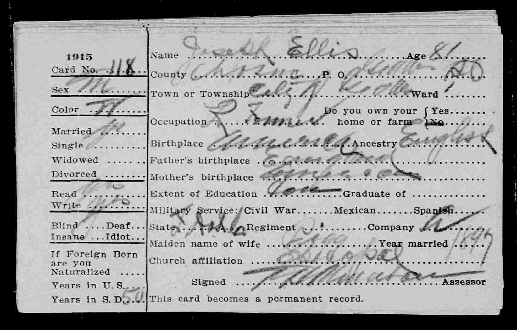 Joseph Henry Ellis Sr. Divorced mother, Henry ellis, Writing