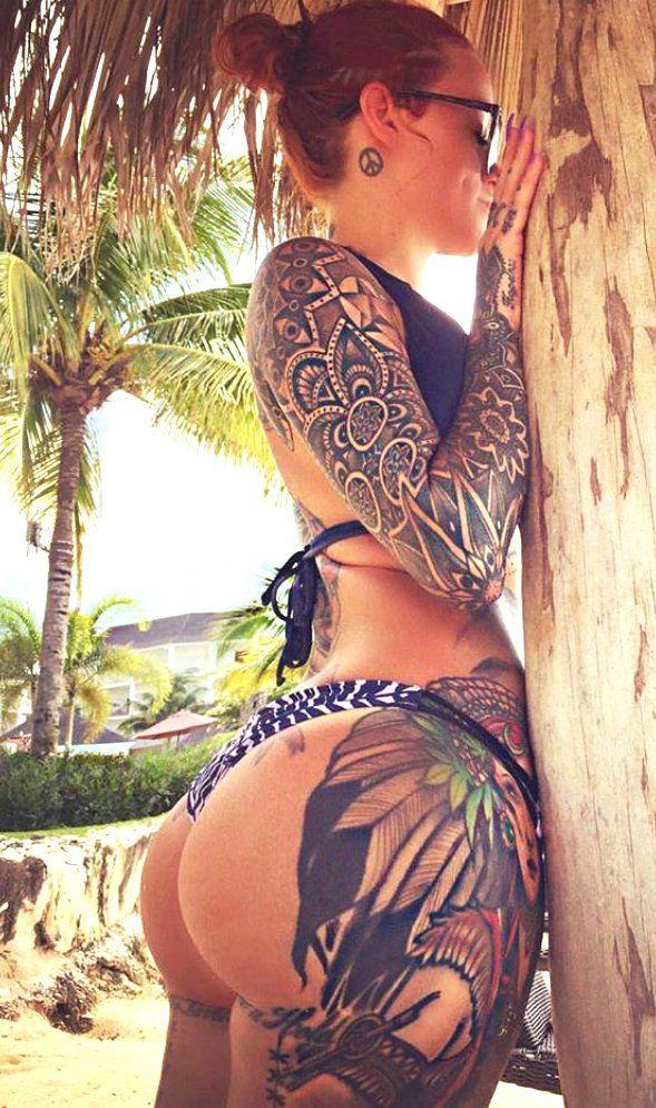Gamer sexy tattoo