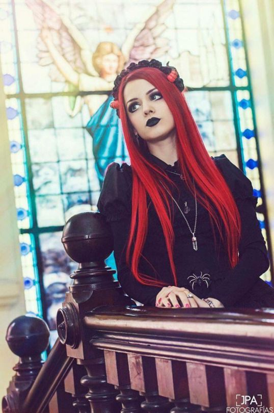 rotes haar gotische iv rotes haaren gotischen pinterest