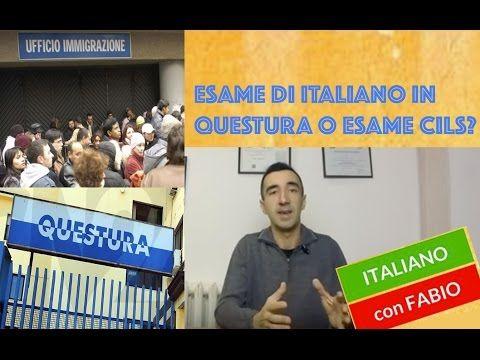 Permesso di soggiorno!Esame di italiano in Questura o ...