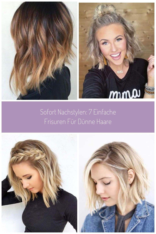 Leichte frisuren fur dunne haare