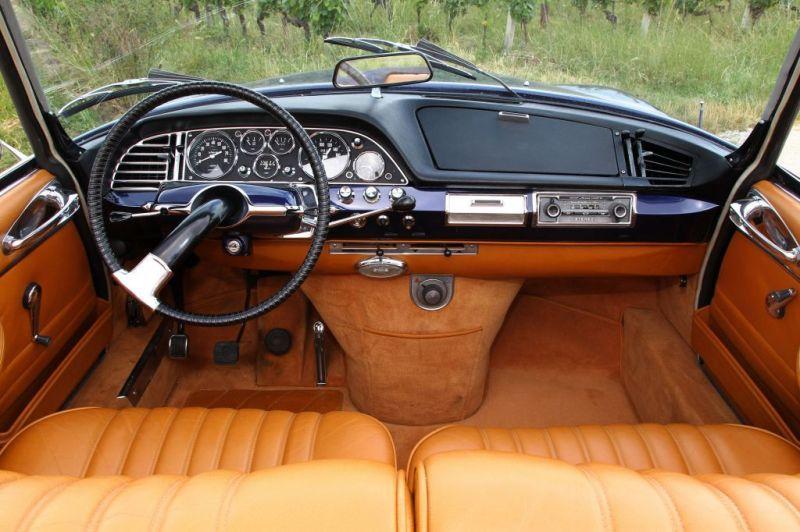 photo citroen ds 21 cabriolet 1967 - médiatheque motorlegend