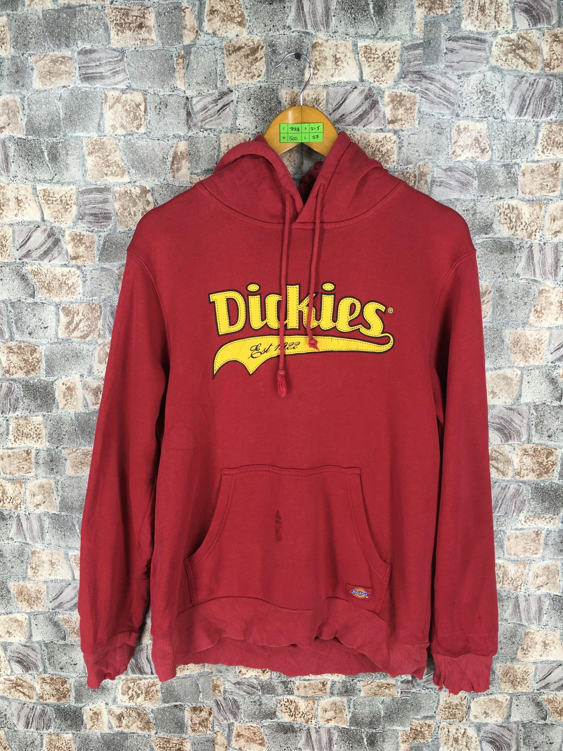 Clothing Hoodie Dickieshoodie Dickiesouterwear Dickiesred Dickiesjacket Vintagedickies Mensdickies Vintage Sportswear Sweatshirts Hoodie Adidas Casual