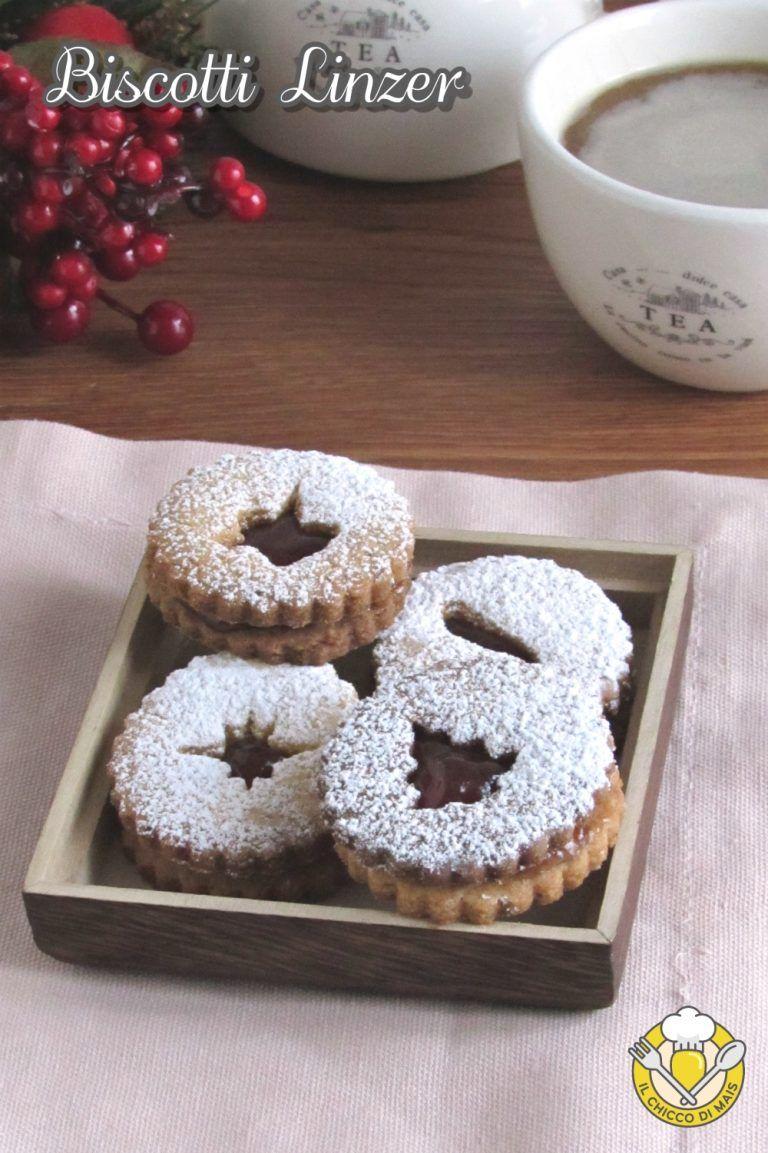 Biscotti Di Natale Con Marmellata.V Biscotti Linzer Ricetta Originale Austriaca Biscotti Di