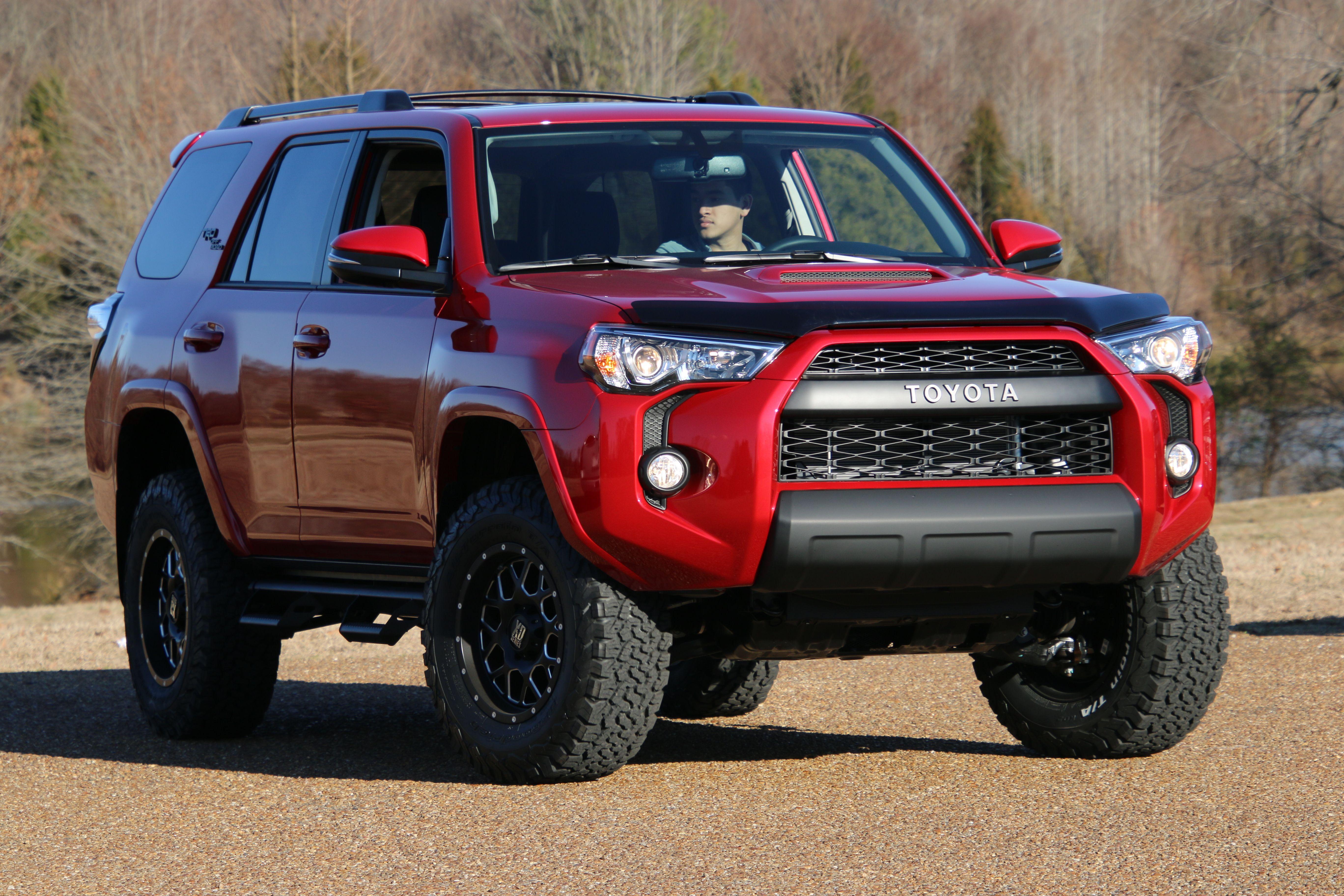 Trd Off Road Red 4runner 4runner Toyota 4runner Trd Toyota Trucks