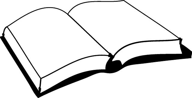 Gratis Obraz Na Pixabay Ksiazka Puste Stron Czytaj Book Clip Art Clip Art Open Book