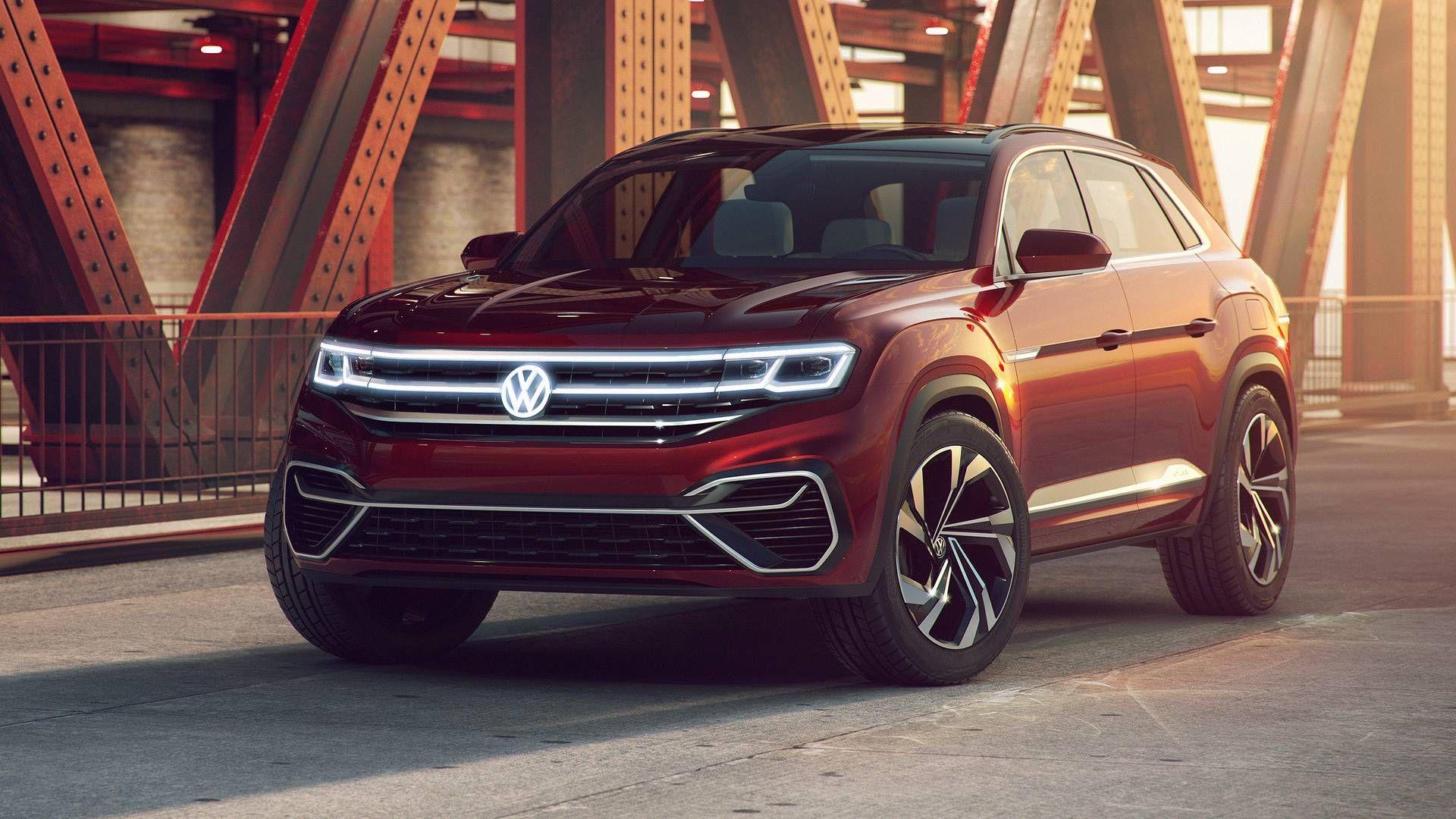 Volkswagen Atlas Cross Sport concept Photos