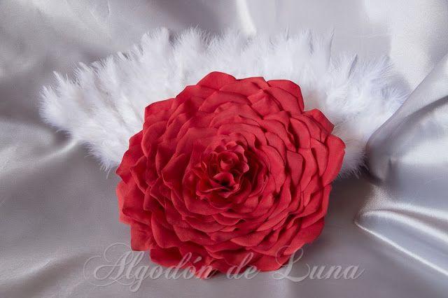 Rosmelia o Rosa gigante para conservar Por Siempre Jamás, con distintos elementos.Ramos únicos y originales.Para novias y bodas especiales algodondeluna@gmail.com o 606619349
