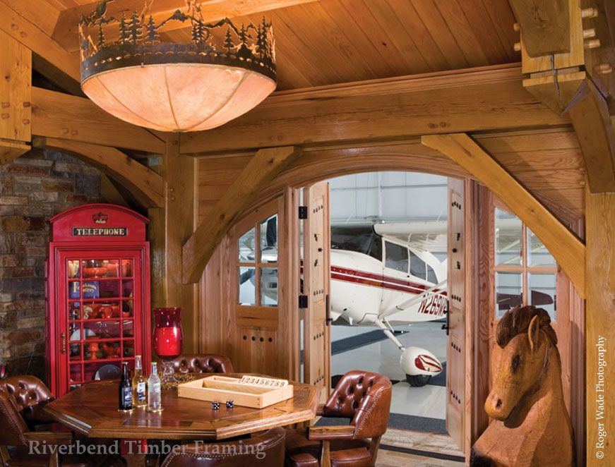 Riverbend Aircraft Hangar | Dream Home Ideas | Pinterest | Hogar y ...
