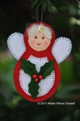 Weihnachtsfrau: